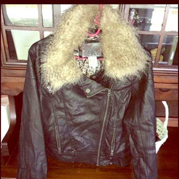 BKE Jackets & Blazers - BKE Leather Jacket